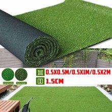 50-200cm de espessura artificial gramado tapete falso relvado grama tapete paisagem almofada diy artesanato decoração do assoalho jardim ao ar livre