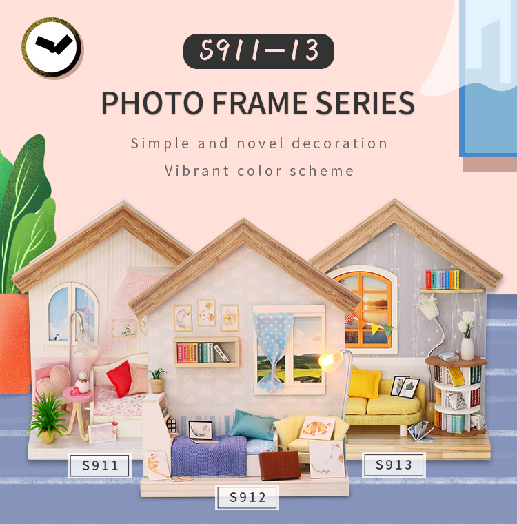 Photo Frame Series DIY Miniature Kit