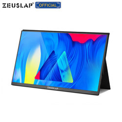 15.6inch Ultrathin Portable Gaming Monitor IPS Screen 1920*1080P FHD Resolution HDR Effect for Switch,PS4,Phone,Laptop