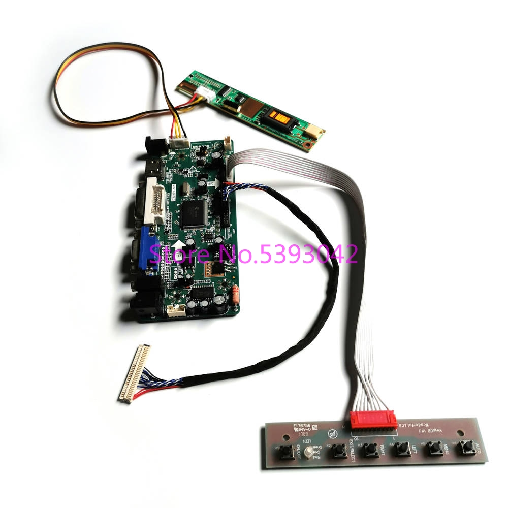 A3 HDMI+DVI+VGA LCD Controller Inverter Driver Board Kit for LP150X08 KB