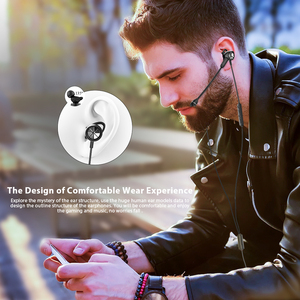 Image 2 - Langsdom Gaming Headset In Ear Earphones 3.5mm Wired Hi Fi Bass Stereo Earbuds PUBG Gamer Headphones Dual Microphone Detachable