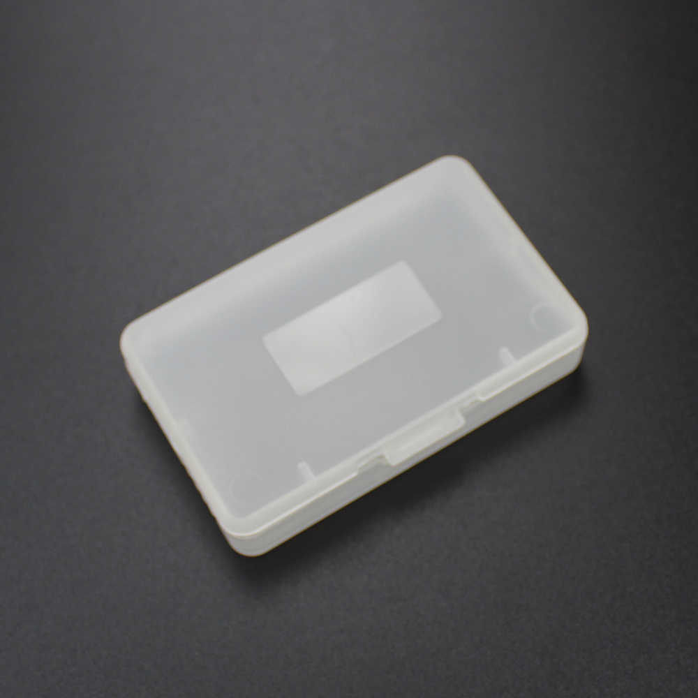 Tingdong 1 pcs 투명 게임 카트리지 케이스 pp 플라스틱 게임 카드 카트리지 커버 케이스 닌텐도 방진