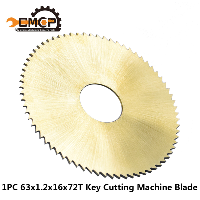 1PC Diameter 63x16x1.2mm 72T Saw Blade Key Cutter Blade For Key Cutting Machine 238BS 238RS Locksmith Tools Cutting Disc