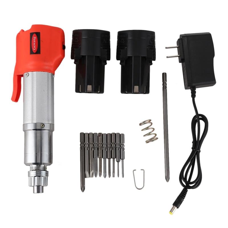 Promotion! Perceuse de charge 12V charge tournevis électrique Type de prise multifonction perceuse au Lithium outil électrique