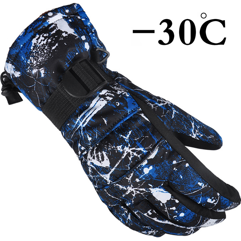 Ski Winter Heat Glove Ski Gloves Waterproof Windproof Snowboard Gloves For Skiing Cycling Outdoor Sports Men Women Kids
