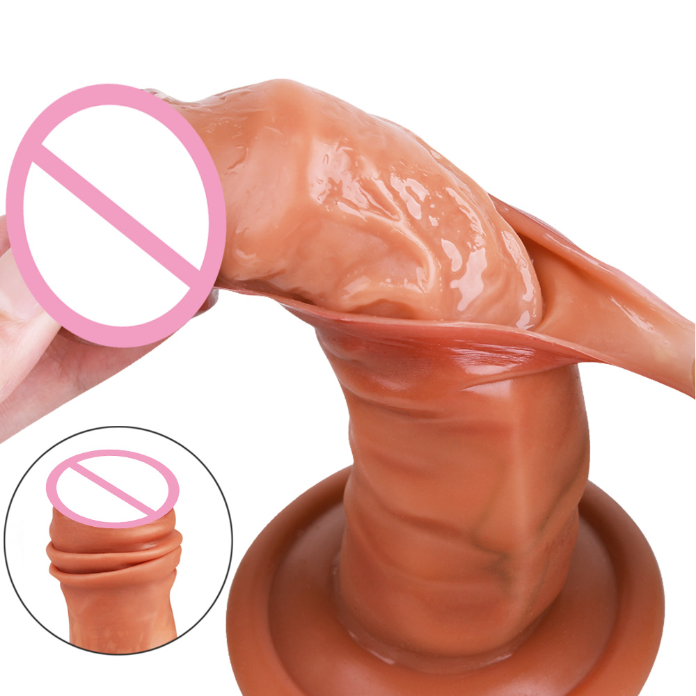 New Arrivals Dildo Realistic Silicone Penis For Women Soft Big Dick Lifelike Feeling Real Dildo Suction Cup Consolador Sex Toys