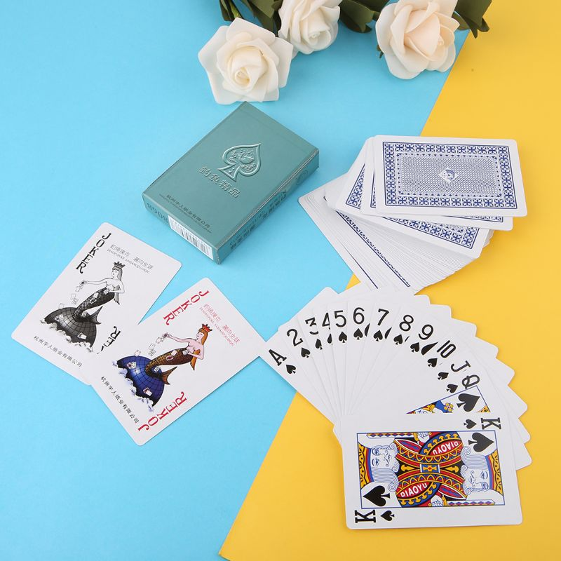 Segredo marcado cartões de poker perspectiva jogando cartões magia adereços simples mas inesperados truques de magia jogando cartas