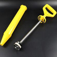 Caulking Gun Pump Lime Cement Mortar Grout Applicator Round Flat Mouth 63HF