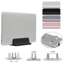 Aluminium Adjustable Vertical Desktop Laptop Holder Stand Bracket for Apple MacBook Pro Mac Book Lenovo YOGA Notebook