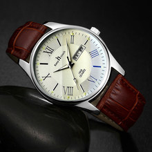Fashion Classic Watch Men Luxury Leather Quartz Wristwatches 24 Hour Date Waterproof Watches For Men Sport Clock Reloj Hombre