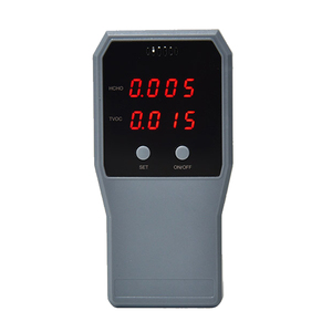 Air Quality Monitor Formaldehyde Detector Pollution Meter Indoor HCHO TVOC Tester Real Time Air Tester with LCD Screen