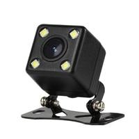 ir led Car Rear View Camera 4 LED Night Vision Reversing Auto Parking Monitor CCD Waterproof Degree IR HD Video Universal Backup Camera (2)