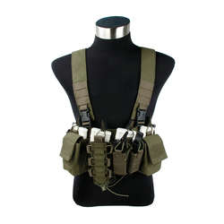 2019 NEw  D3-CR 556 Chest rig  Tactical vest Outdoor 500D Cordura Fabric Ranger Green