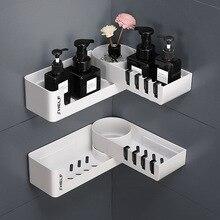 Bad Regal Ecke Regale Shampoo Halter Küche Lagerung Rack Chaos Dusche Organizer Wand Halter Raum Schoner Haushalts Artikel
