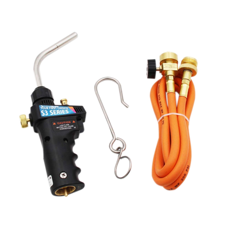 for Mapp Gas Brazing Torch Trigger-Start Torch Self Ignition Trigger 1 5M Hose for All Soldering