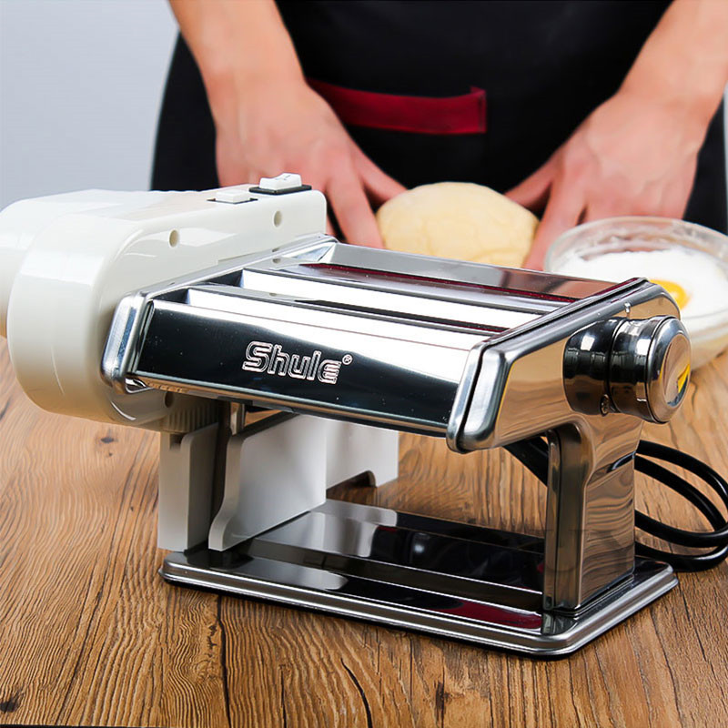 Household Manual Press Machine Electric Small Pasta Machine Fully Automatic Stainless Steel Multifunction Pasta Machine