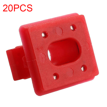 New 20Pcs Auto Car Interior Panel Dashboard Dash Board Fixing Buckles Fastener Clip Fixed Clamp Insert Grommets For BMW E46 E65 image