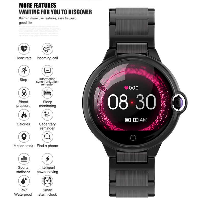 Lige mulheres relógio inteligente à prova dwaterproof água monitor de freqüência cardíaca dos homens do esporte fitness rastreador smartwatch para ios android montre connectee