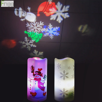 creative nordic christmas deer the merry go round dandelion moon lamp milky way a night light Snowflake Snowman Christmas Night light Projection Merry Christmas Decoration for Kids Gifts Galaxy Light XMAS Projection Lamp