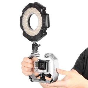 Image 5 - Hai Cánh Tay Hỗ Trợ Tay Cầm Ổn Định Cầm Tay Lặn Dưới Nước Thiết Bị Chụp Ảnh Cho GoPro Hero Xiaomi Yi Camera Hành Động