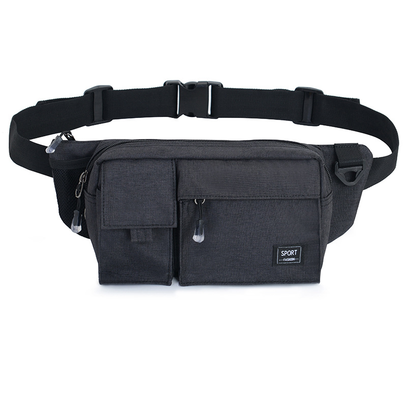 Wallet Export Men's Women's Mobile Phone Waist Bag Fashion & Sports Outdoor Casual Bag Nylon Retro Chest Pack
