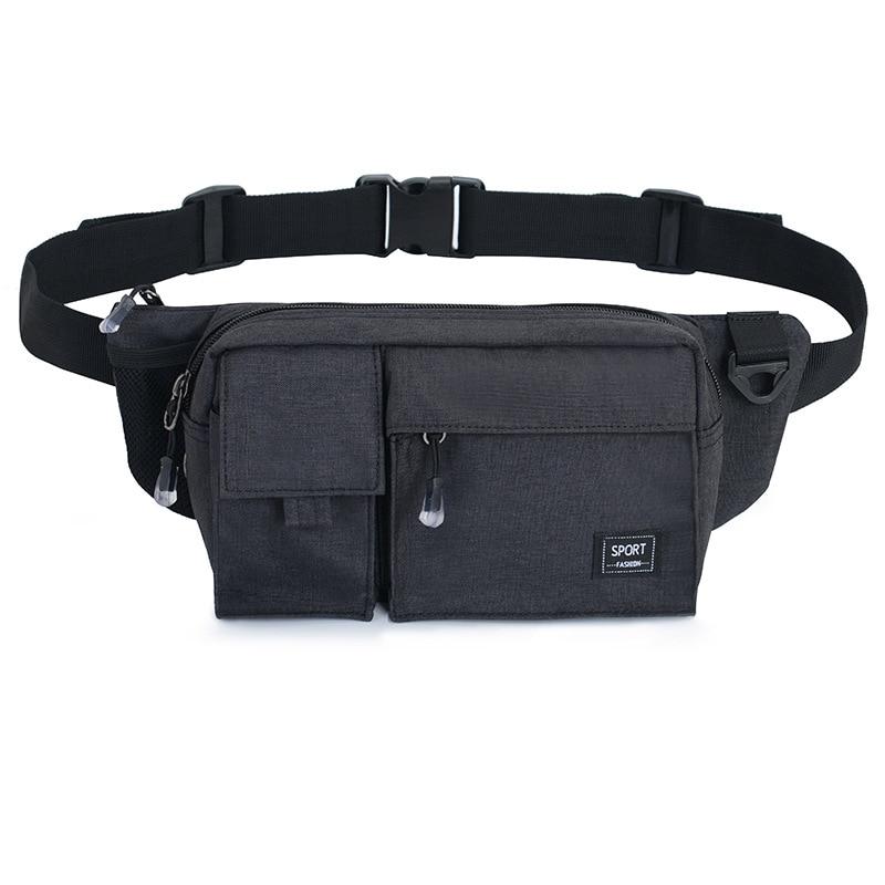 Wallet Export Men's Women's Mobile Phone Waist Bag Fashion & Sports Outdoor Casual Bag Nylon Retro Chest Pack