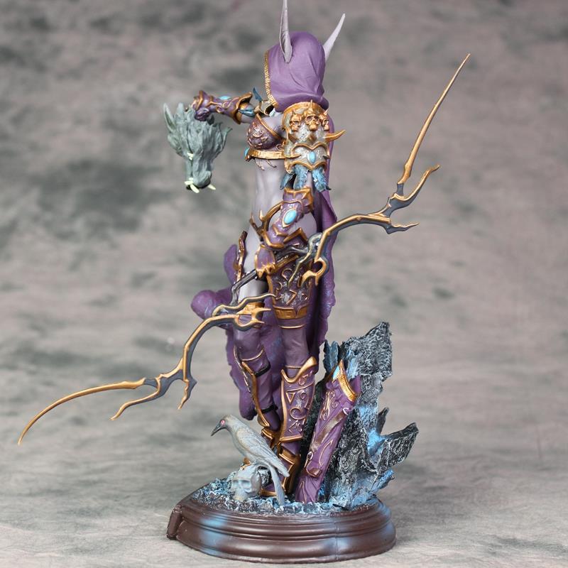 Cheng Yuan Anime Toy Garage Kit World Of Warcraft Sylvanas Ghost Queen Statue Garage Kit Model