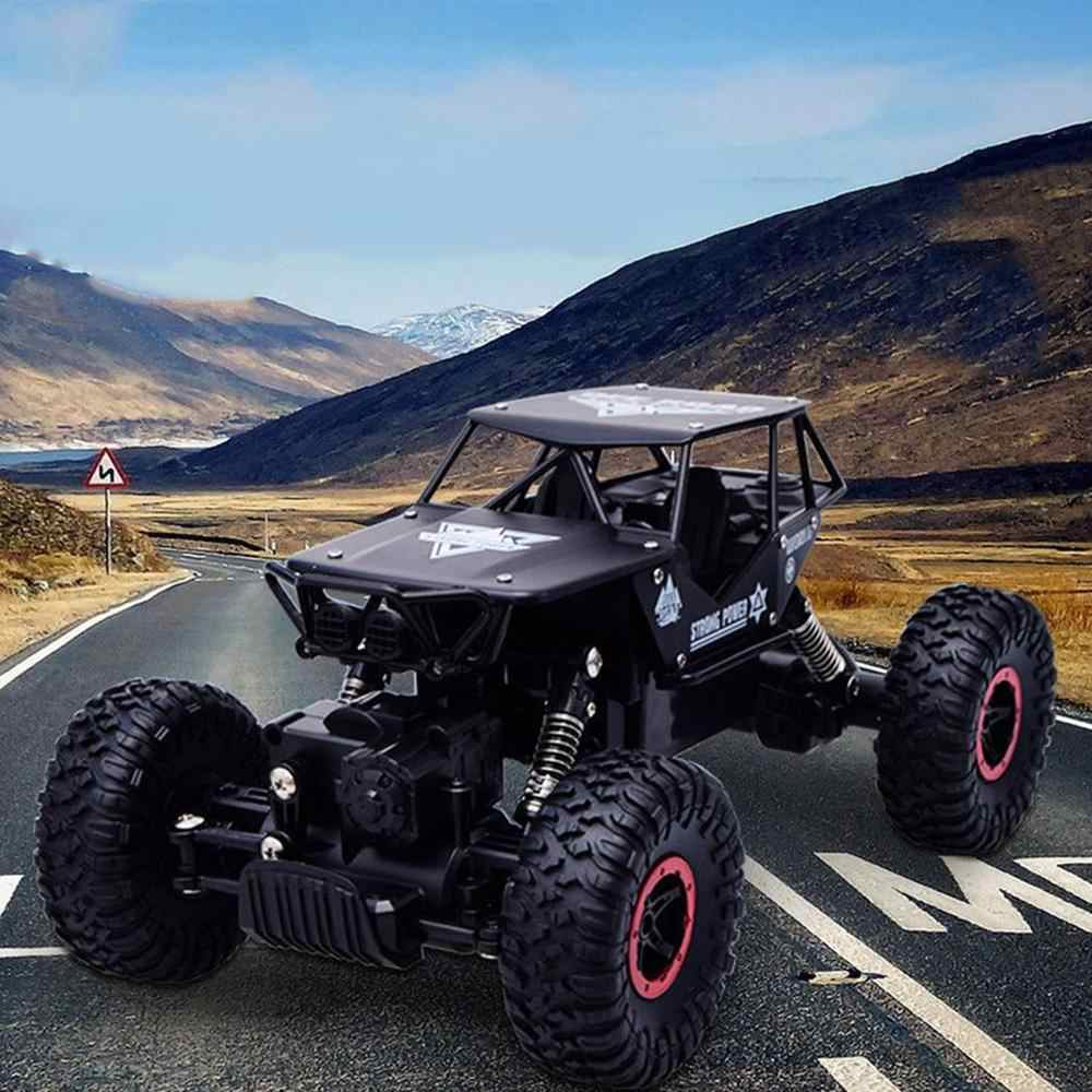 RC araba 2.4GHz uzaktan kumanda tırmanma araba 4x4 çift motorlar Bigfoot araba modeli Off-Road araç oyuncak