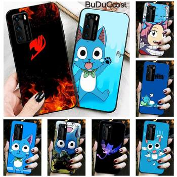 Riccu Happy Felice Fairy Tail Phone Case for Huawei P30 P20 Mate 20 Pro Lite Smart Y9 prime 2019 image