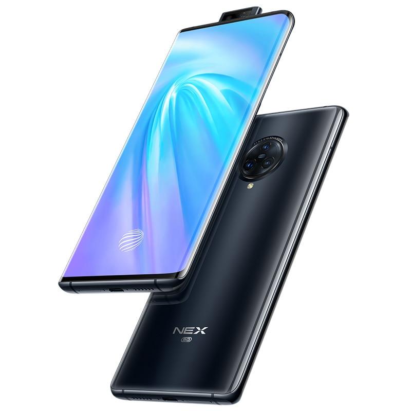 vivo celular NEX3 5G Mobile Phone Android 8GB 256GB Snapdragon 855 Plus NFC 64MP Rear Camera 4500mAh Big Battery 44W Flash Charg