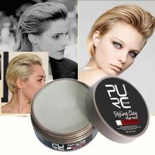 Глина для укладки волос сильная фиксация средний блеск естественный вид продукт для волос