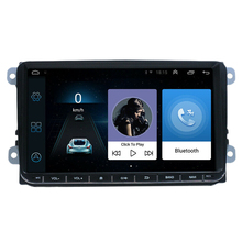 9 Inch 2 Din Car Android 8.1 GPS Navigation Car Stereo Radio Multimedia Player for Golf-Polo