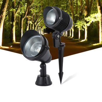 LukLoy LED Lawn Spotlight Garden Villa Outdoor Waterproof Projection Lamp Tree Light Plug Ground Community Park Courtyard Light