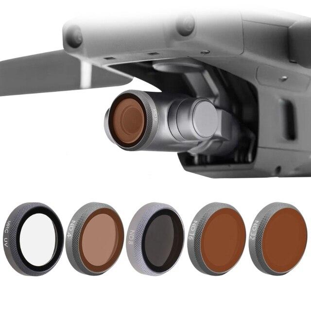 UV CPL ND4 ND8 ND16 ND32 ND64 Gimbal Bộ Lọc Ống Kính Camera Cho Mavic 2 ZOOM Máy Bay Không Người Lái Phụ Kiện
