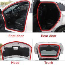 цена на New High Quality 5M And 15M L Shape Seal Strip Car Door Hood Trunk Trim Edge Moulding Rubber Weatherstrip For Car Tools