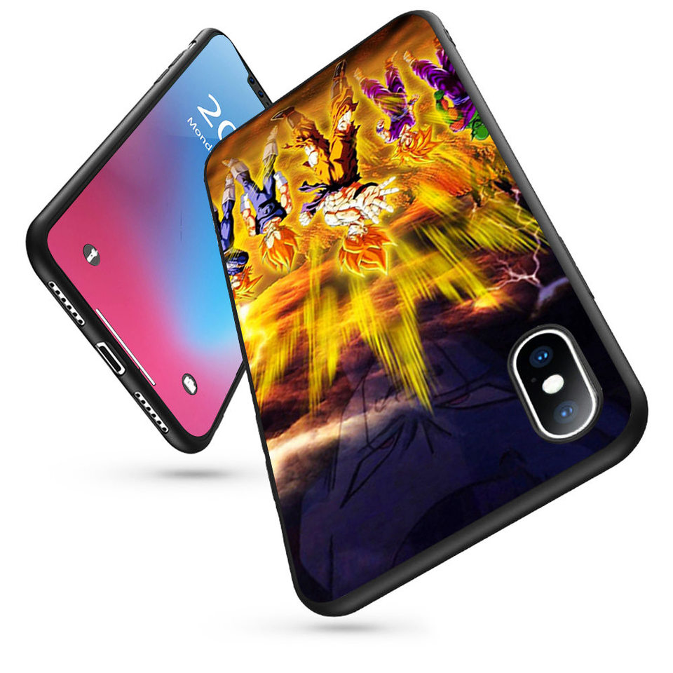 Coque Dragon Ball Z Wallpapers Soft Silicone Phone Case For Iphone 11 Pro Max X 5s 6 6s Xr Xs Max 7 8 Plus Case Phone Cover Fitted Cases Aliexpress