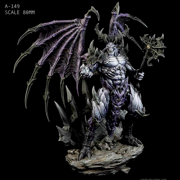 140MM Resin Figure Kits Hell Warcraft Resin Soldier Self-assembled A-149