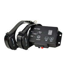 Training Collar Pet-Equipment Dog-Fence Electric-Shock Bark Ultrasonic Wireless Anti-Stop