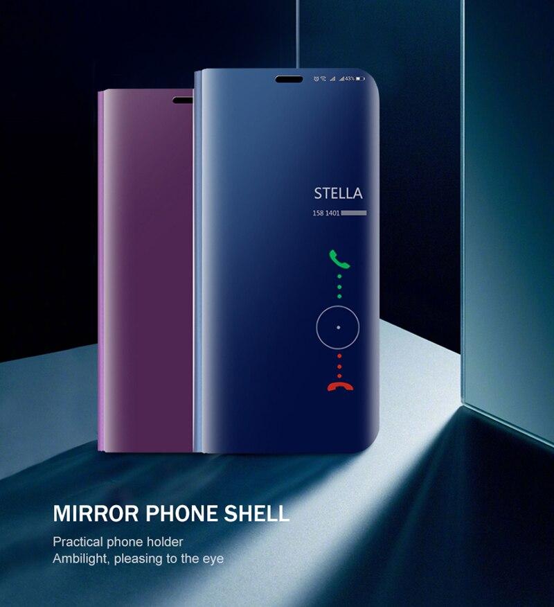 Smart Mirror Flip Case For Huawei Honer 20 s s20 MAR-LX1H 1