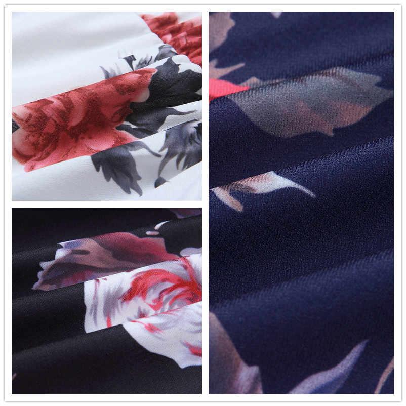 monos cortos enterizos para mujer verano 2019 mamelucos tallas grandes ropa casual mono estampado de flores mono manga larga hombro descubierto mono pantalon corto 0638