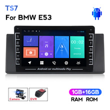 Navifly 8''  USB IPS BT Android  For BMW E39 E53 X5 M5  Car multimedia video gps radio player No DVD 2 din support carplay