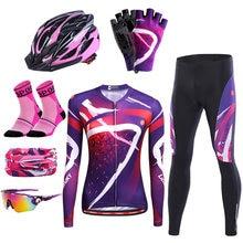 Летний велосипедный комплект из Джерси женская одежда для велоспорта