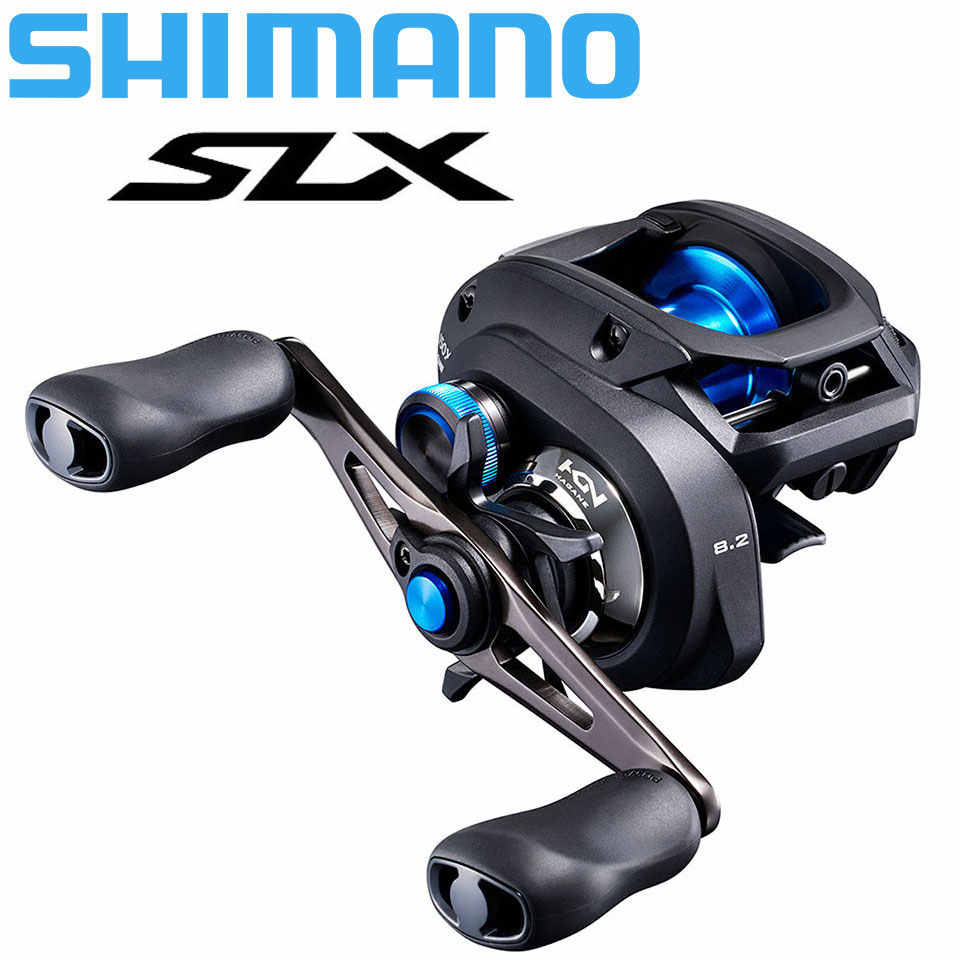 Nieuwe Shimano Slx Baitcasting Low Profile Rollen 3 + 1BB 6.3:1/7.2:1/8.2:1 Hagane Body Centrifugaal Remsysteem Made In Maleisië