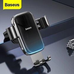 Baseus do wejścia na cd uchwyt samochodowy na telefon Gravity uchwyt samochodowy na telefon w samochodzie na iPhone Samsung Xiaomi mobilny stojak na telefon komórkowy