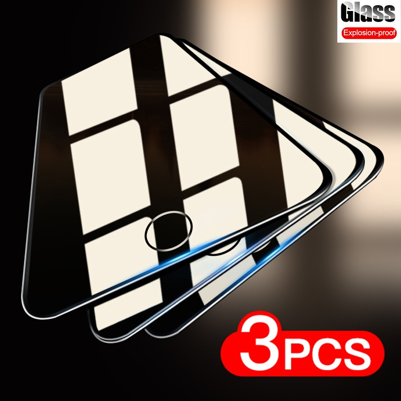 3PCS Tempered Glass For iPhone 5 5s 5c SE Screen Protector Protective Film For iPhone 6 6s Plus Glass Screen Protector