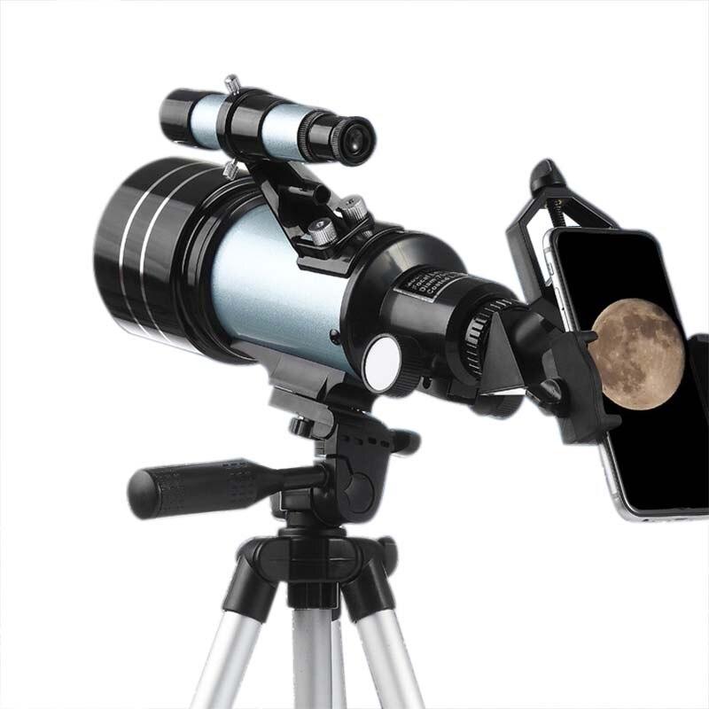HD Профессиональный астрономический телескоп ночного видения глубокий космический Звездный вид Луна вид 1000 монокулярный телескоп