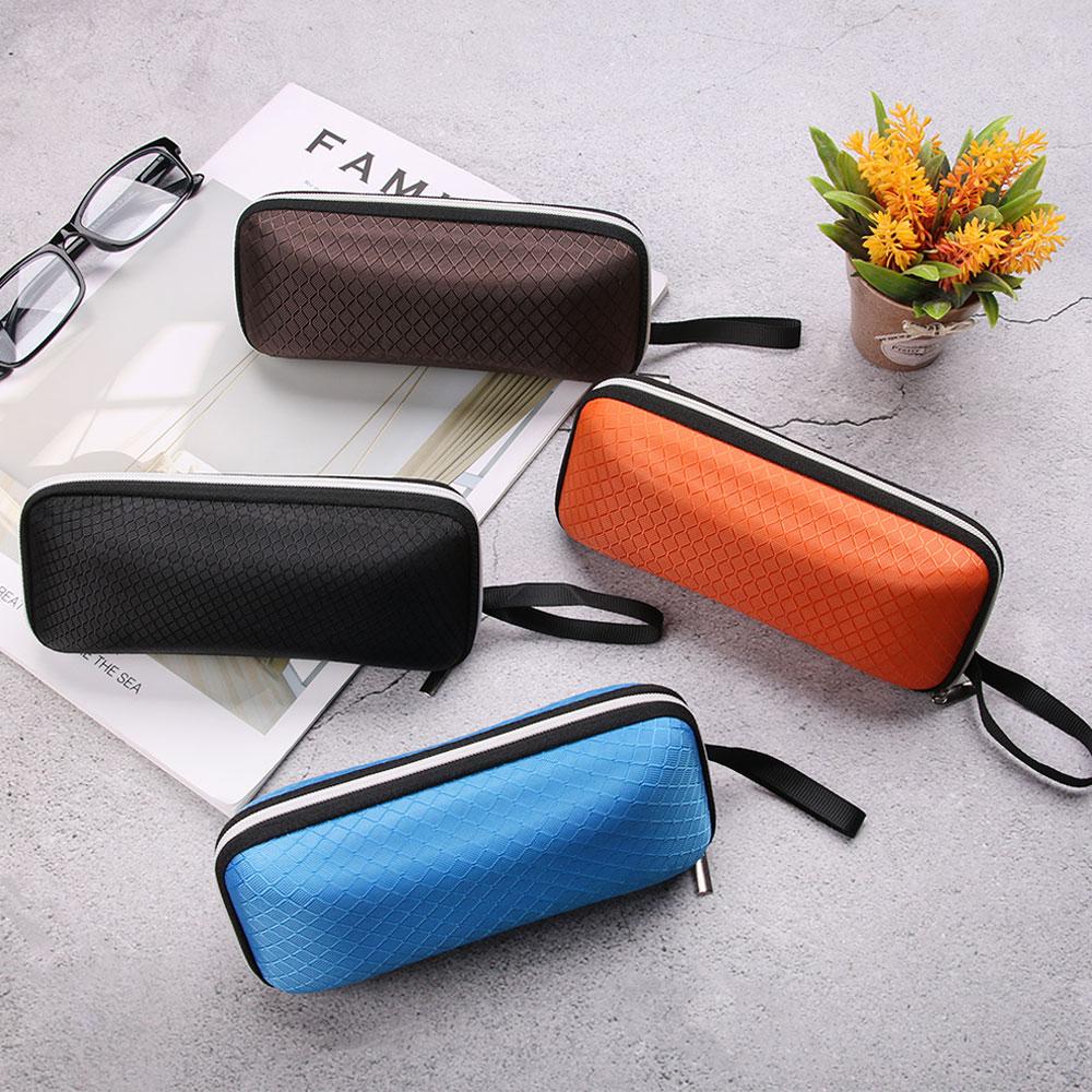 New Zipper Sunglasses Hard Eye Glasses Case Protector Box  EVA Eyewear Cases Cover For Women Men Fashion Glasses Box