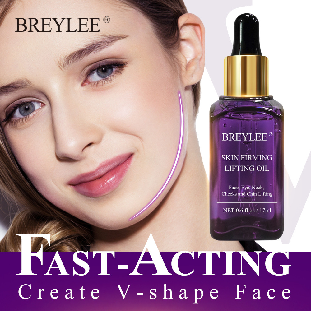 BREYLEE Nature Essential Oil Massage V Face Cuticle Oils Parfum Women Pigment Whiten Moisturizing Anti Wrinkle Beauty Skin Care