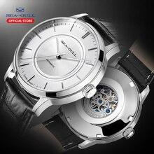 שחף מכאני שעון גברים אוטומטי שעון 50m עמיד למים מכאני שעון מותג שעון עצמי מתפתל צפה 819.22.6060