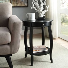 2 Tier Coffee Table Fashion Small End Table Living Room Coffee Table Creative Sofa Bed Table